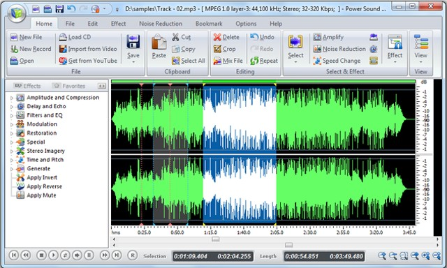 power sound editor: all around audio editor - Best Free Audio Editing Software for Windows