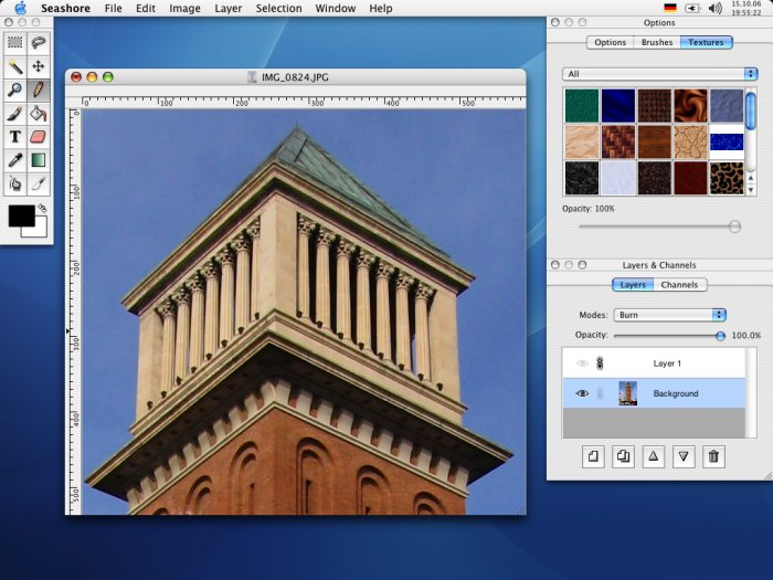 seashore: Best open source photo editor for Mac - free Mac photo editor