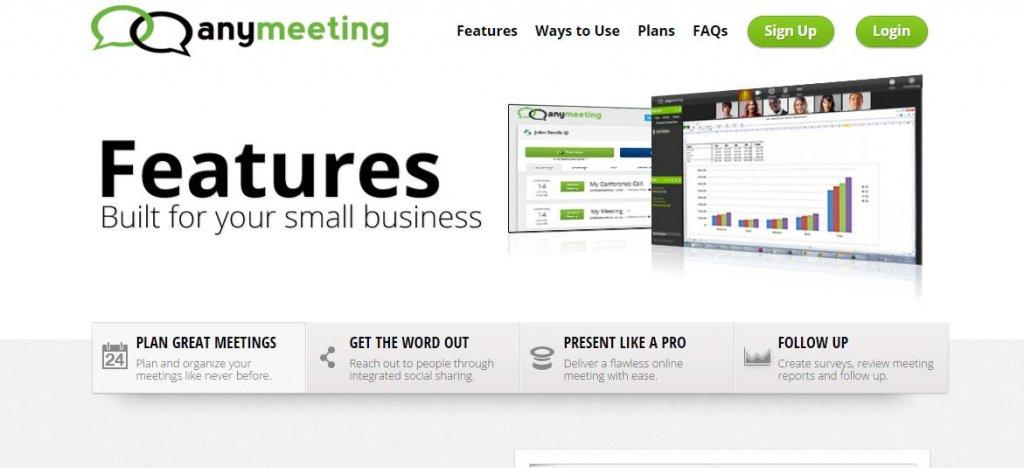 AnyMeeting Best Paid Online Meeting Tool - Best Online Meeting Tool for Web Conferencing