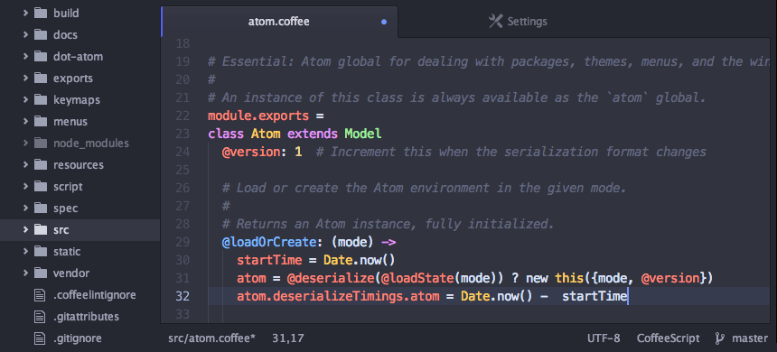 Atom Professional Free Text Editor for Mac - Recommended Best Text Editor for Mac - Best Mac Text Editors - Free Text Editors for Mac