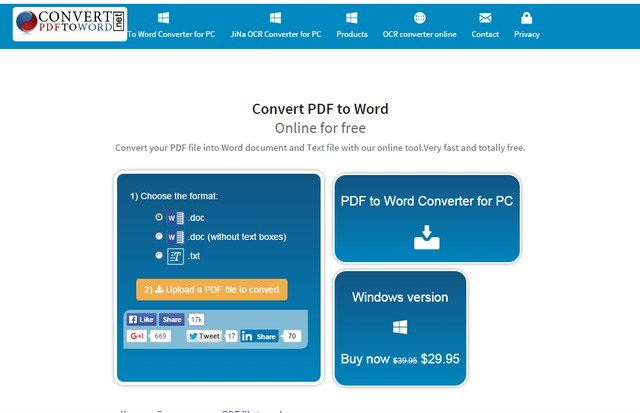 Convert PDF to Word - Convert PDF to Word Online for Free