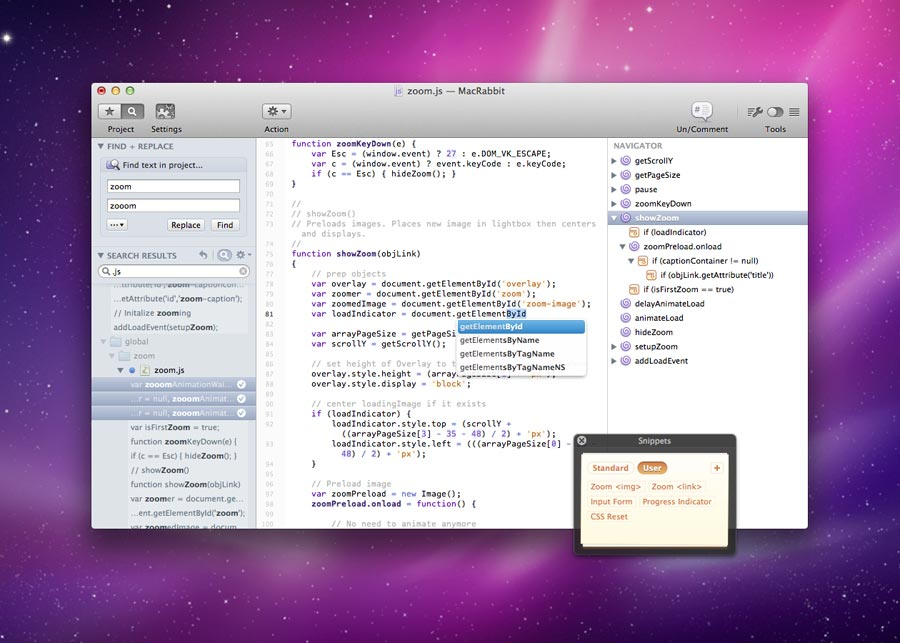 Expresso Web Mac Text Editor Paid - Best Text Editors for Mac - Best Mac Text Editors - Free Text Editors for Mac