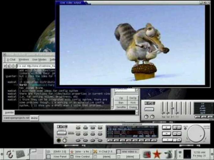 Xine - Best Linux Media Player - Fast Video Player for Linux
