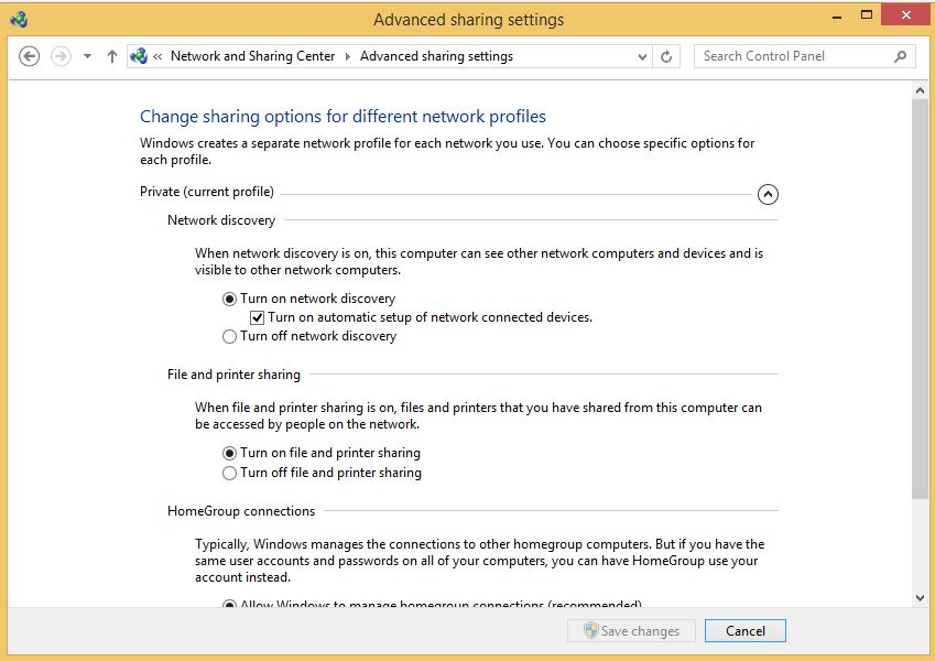 Advance Sharing Center - Step by Step Guide to Share Files From One Computer to Another Through WiFi
