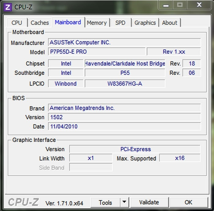 CPU-Z and GPU-Z- Get all the information about CPU and GPU - best GPU overclocking software