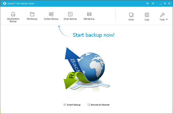 EaseUS Todo Backup free data backup software for Windows 10 - Best Data Backup Software for Windows