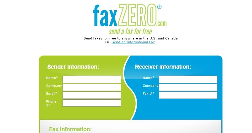 Faxzero send fax free online - Best Free Online Fax Services to Send a Fax Online for Free