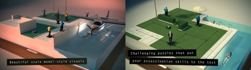 Hitman GO - Free Puzzle Games for iPhone - Best iPhone Puzzle Games