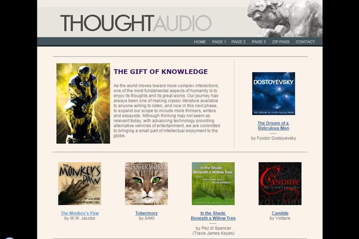 ThoughtAudio - Best Online Audio Books Download Sites to Download Free Streaming Audio Books Online