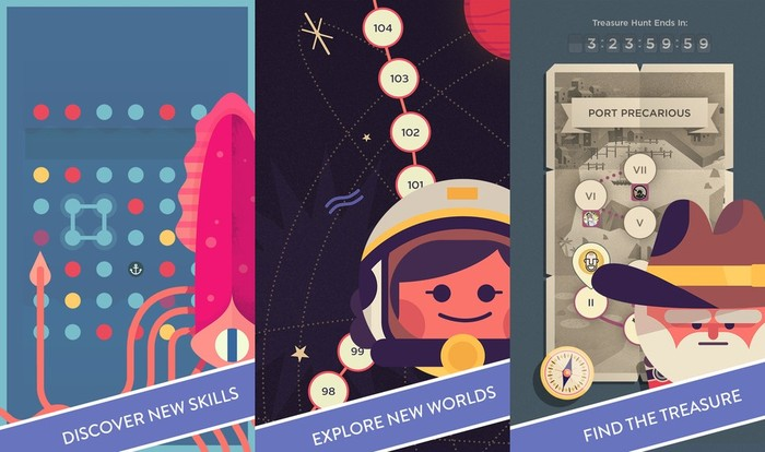 Two Dots - Best iPhone Puzzle Games to Improve Puzzle Solving Skills