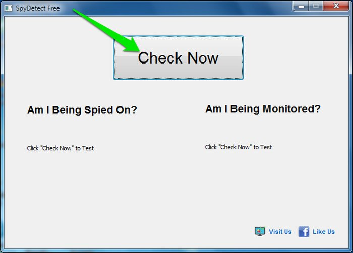 Check-Now - Check if You Are Being Spied on Windows - Free Spy Detector Software for Windows