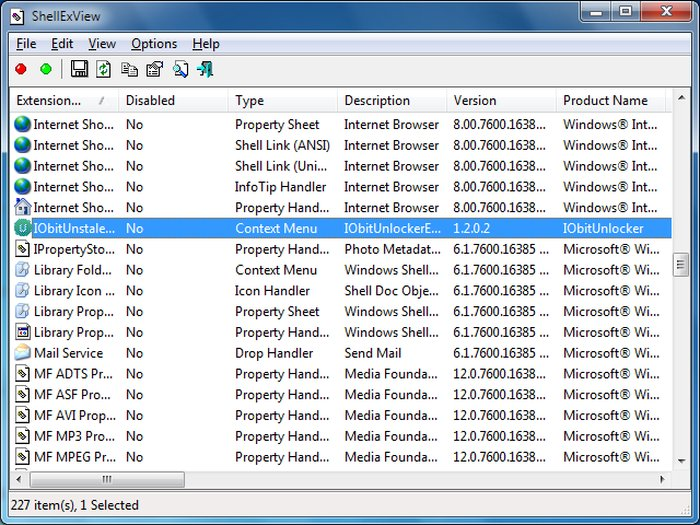 Edit Windows Context Menu ShellEXview - Windows Context Menu Editor - Windows Explorer Context Menu - Windows Context Menu Cleaner