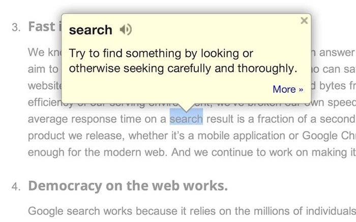 Google Dictionary - Best Dictionary for Chrome - Chrome Dictionary