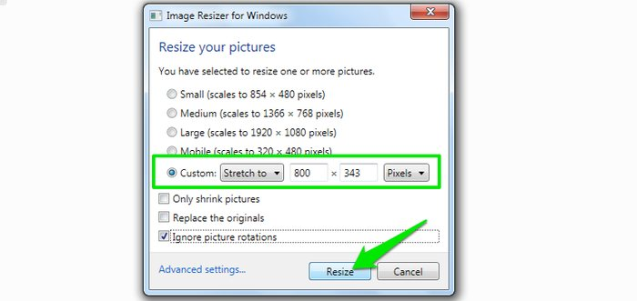 Image Resizer context menu Image resizer - How to Resize Images in Windows - Windows Image Resizer Tools