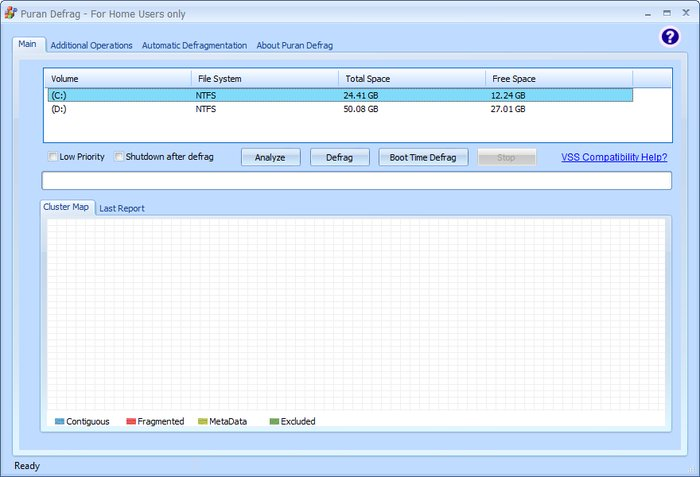Puran Defrag - Best Free Disk Defragmenter - Best Free Defrag Software - Best Defrag Program