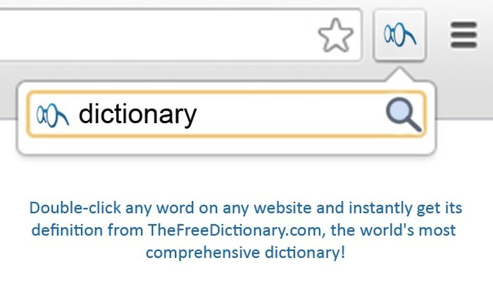 TheFreeDictionary.com Extension - Best Dictionary extension - Chrome Dictionary Extension
