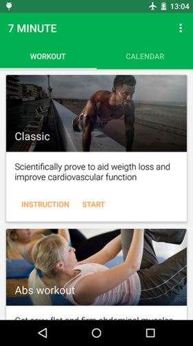 7 Minute Workout - Best Android Fitness Apps - Top 7 Best Fitness Apps for Android to Keep Track of Your Health and Fitness