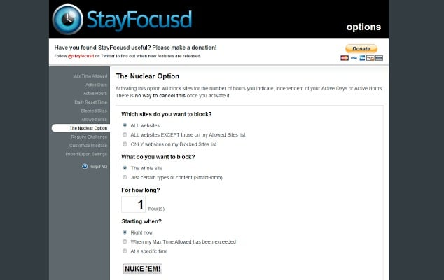 StayFocused- block distractive websites - extensions for google chrome - Best Chrome Extensions for Productivity