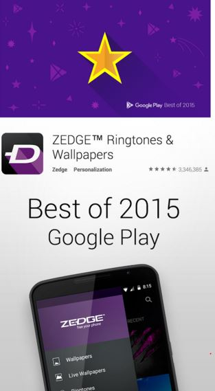zedge - wallpaper apps for android - Best Wallpaper Apps for Android - Top 6 Best Android Wallpaper Apps You Must Have