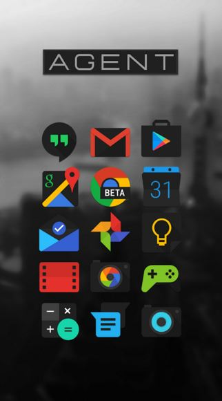 agent icon pack - Best icon packs for android - What are the Best Android Icon Packs? - Top 10 Best Paid Icon Packs for Android