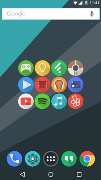 click ui - best icon packs for android - What are the Best Android Icon Packs? - Top 10 Best Paid Icon Packs for Android