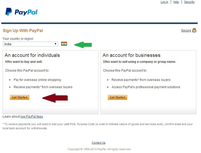 Free Pay Pal Account