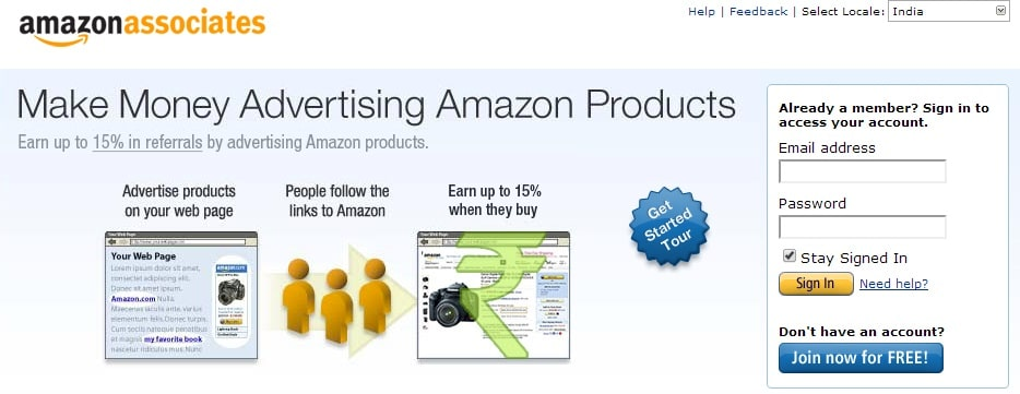 Earn Money Promoting Amazon Products with Amazon Affiliate Program
