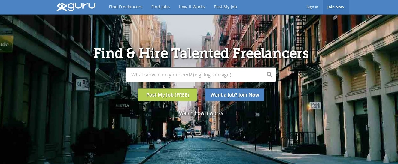 Guru - One of Top 5 Places to Look for Freelance Jobs