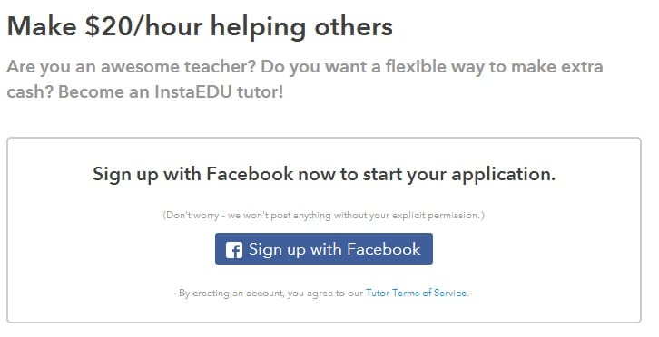 Earn Money Tutoring at InstaEdu