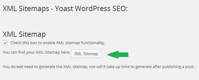 Create XML Sitemap using WordPress SEO by Yoast Plugin