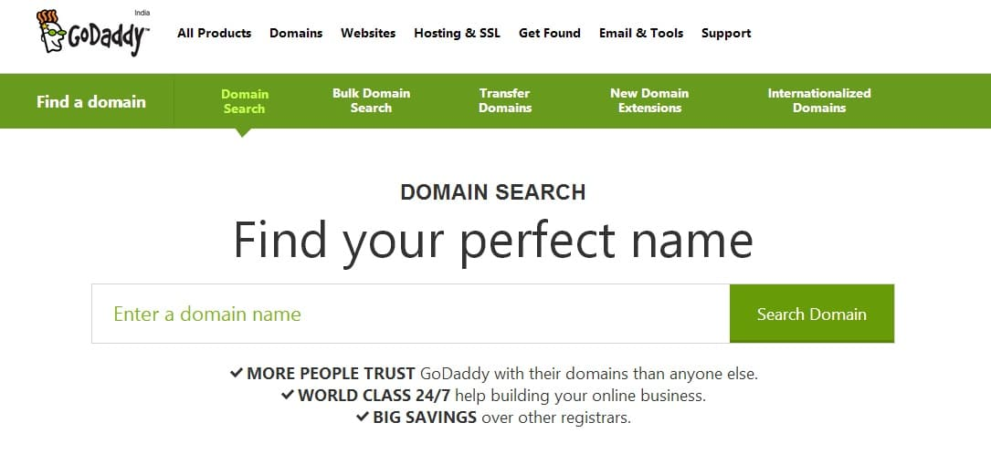 Buy Cheap and Best Domain Name - GoDaddy