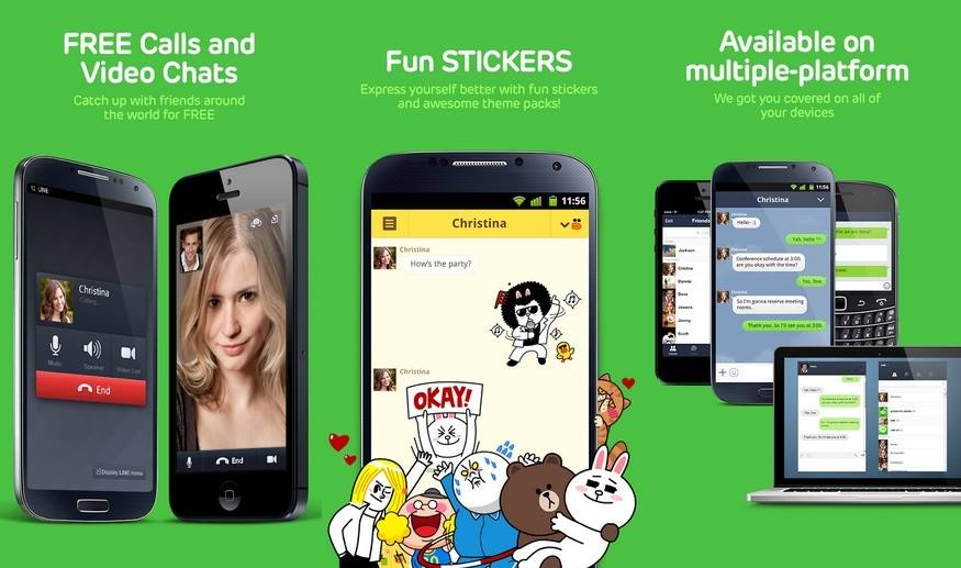 Line - Best Android Apps to Make Unlimited Free Calls