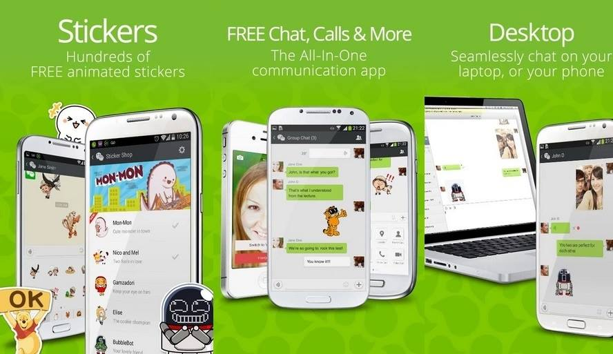 WeChat - Awesome Android Apps to Make Unlimited Free Calls
