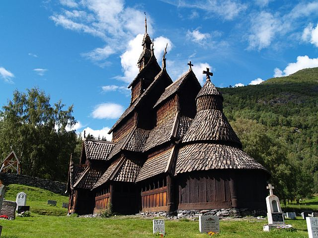Borgund_Stavekirk,_Norway - Most Popular Churches in the World
