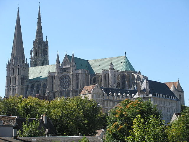 Chartres Cathedral, France - One of the most beautiful churches in the world.