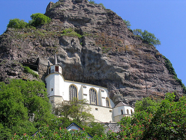 Felsenkirche Oberstein, Germany - Very Beautiful Church in The World