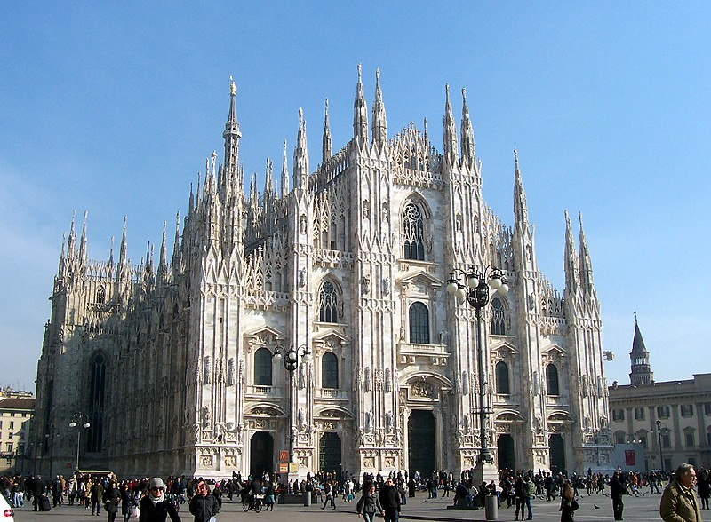 Duomo di Milano, Milan, Italy - Most Beautiful Churches in the World