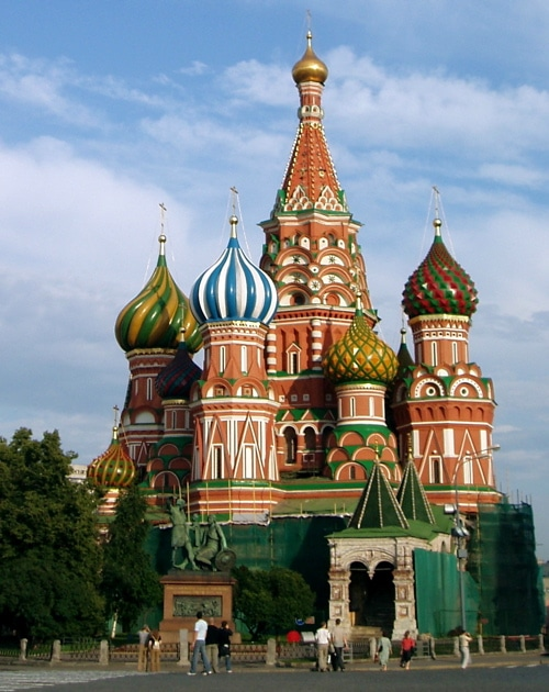 St. Basil's Cathedral Mascow - Most Beautiful Churches in The World
