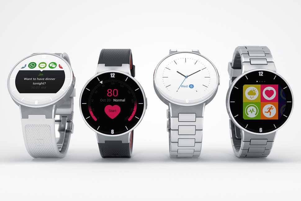 Alcatel-OneTouch-Smartwatch-Full-Review-Specifications-Price Newest Smart Watch 2015 CES