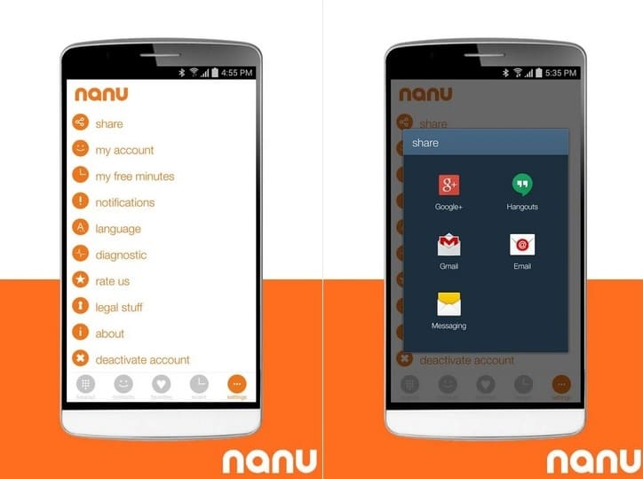 How to Get Nanu Free Minutes Credit by Sharing