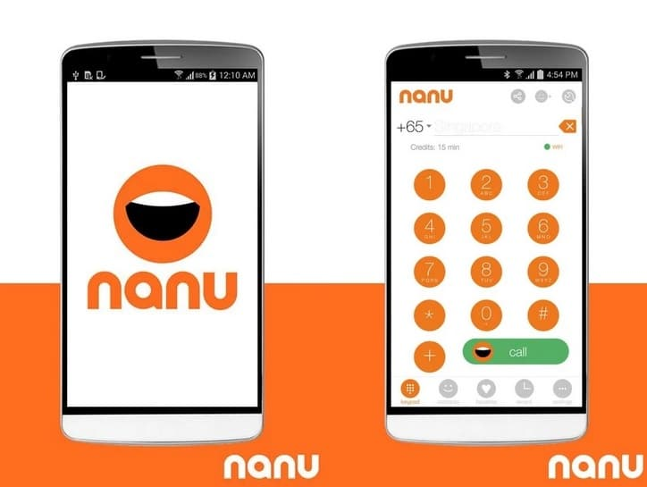 Nanu - Make Free Calls Unlimited Android App Even in 2g - Free Recharge Tricks