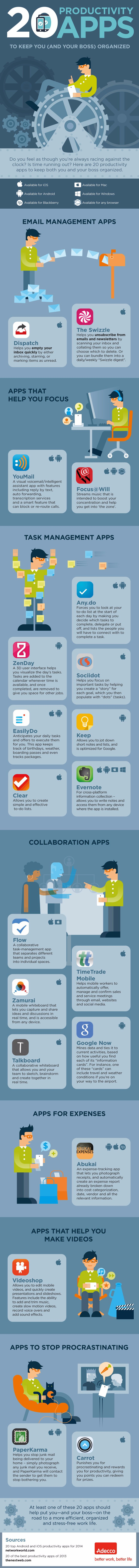 Top 25 Best Productivity Apps for Android, iOS, Windows, Mac, Blackberry