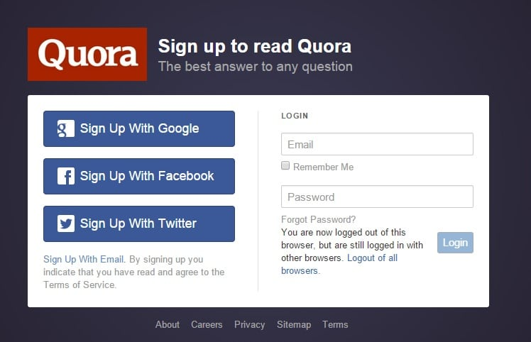 Quora - Free Question Answer Community to Create Free Blog