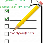 Top 7 Free Online HTML Form Generator Tools to Build Killer DIY Form