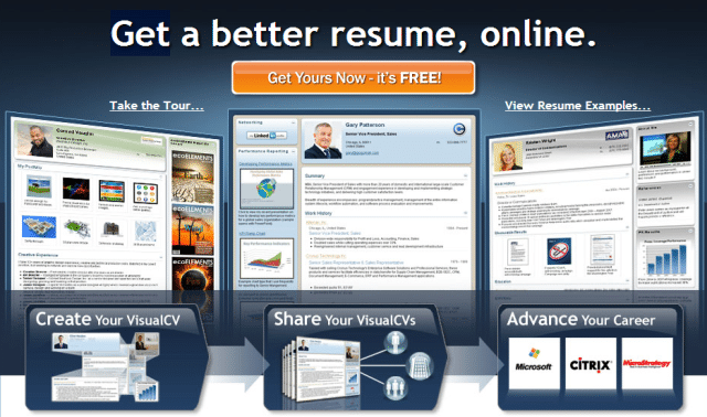 visual cv best online resume builder free printable best free resume maker best - Resume Makers Free
