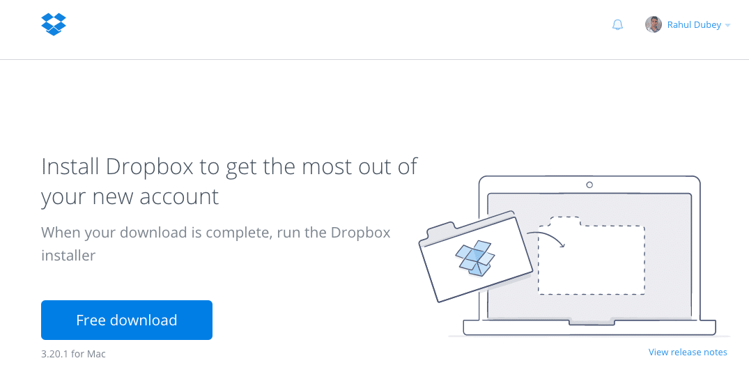 Dropbox - How to Send Large Files Securely - Free Cloud Large File Sharing Tool to Send and Share Large Files Online for Free