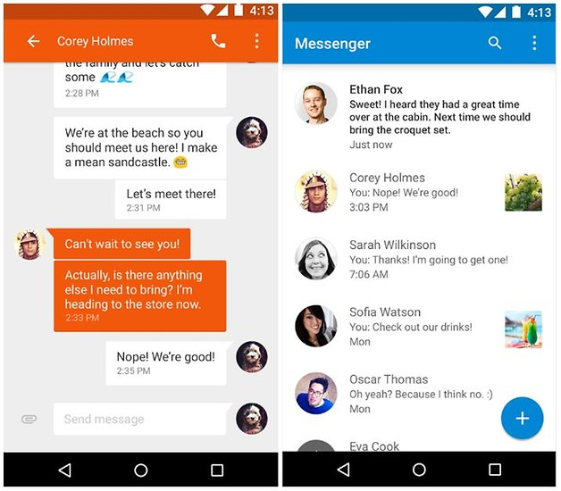 Google messenger - best free text messaging apps for android devices