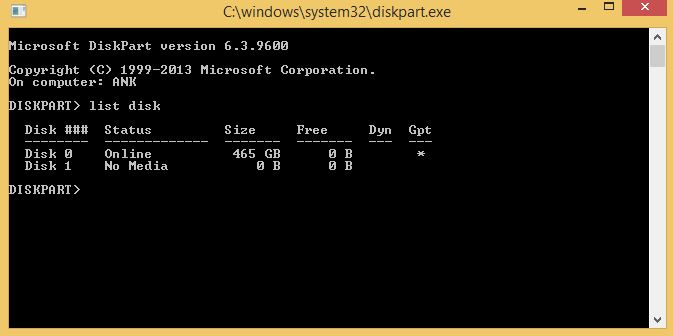 Command Prompt Tricks to Add or Remove Write Protection from USB drive or SD card