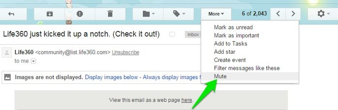 Gmail Tips And Tricks mute conversations - Gmail Tips and Tricks - Gmail Tricks and Tips - Gmail Tips Tricks and Secrets