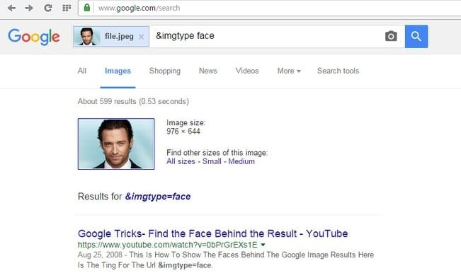 Search Faces Online with Google Facial Recognition Search - Facial Recognition Photo Search